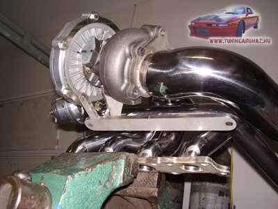RMS T3/T4 turbo and exhaust manifold
